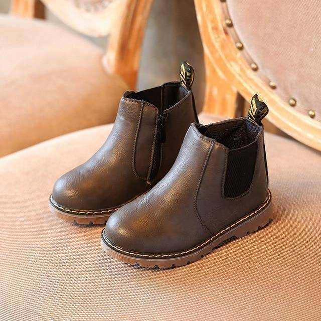 Kid's Premium Eco Leather Boots