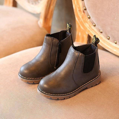 Image of Kid's Premium Eco Leather Boots