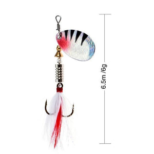 Rooster Tail Trophy Spinners Fishing Lures H