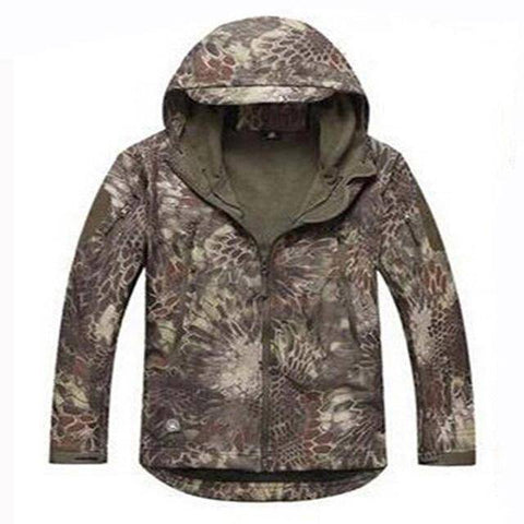 Image of Outdoor Softshell Jacket and Pants Hiking Jackets Jungle Python S