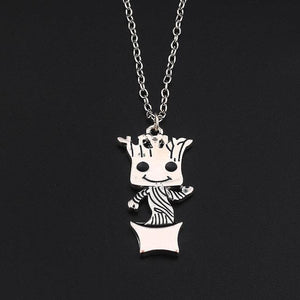 Cute Groot Collection Stud Earrings Necklace One
