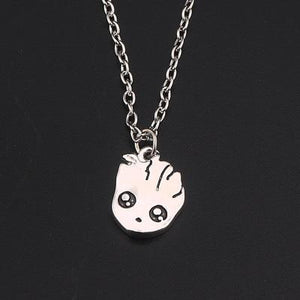 Cute Groot Collection Stud Earrings Necklace 3