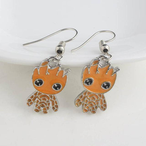 Image of Cute Groot Collection Stud Earrings Hanging Earrings