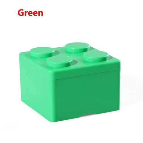 Image of Creative Building Block Storage Box Storage Boxes & Bins S Green