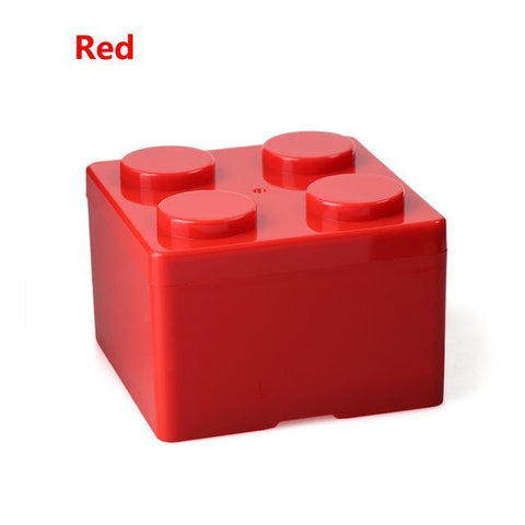 Image of Creative Building Block Storage Box Storage Boxes & Bins S Red
