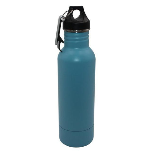Image of BottleCooler, The BEST Insulated 12 oz. Bottle Holder, Protect Your Drinks This Summer Vacuum Flasks & Thermoses Sky blue