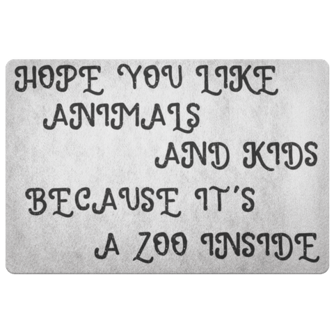 Image of Animals and Kids Doormat Doormat 1