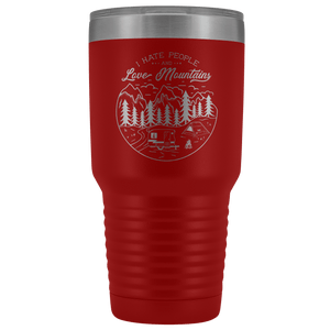 Love the Mountains | 30oz Tumbler Tumblers Red