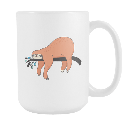 Image of Sloth Coffee Mugs Set 1 Drinkware Nap Time