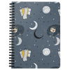Sleeping Space Sloth Journal | Spiral