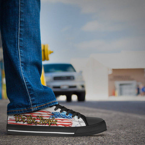 Image of We The People | Canvas Low Top Shoes Shoes