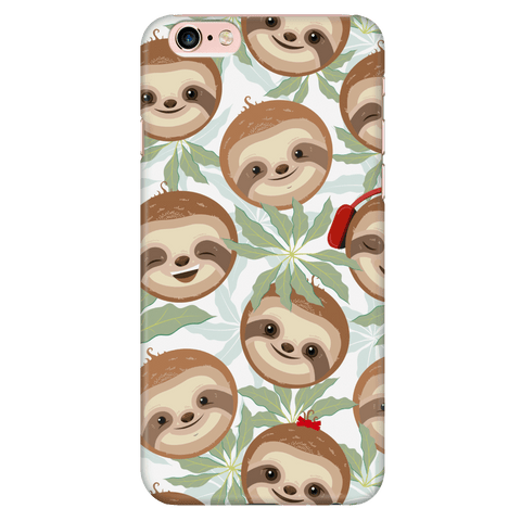 Happy Sloth Phone Case Phone Cases iPhone 6 Plus/6s Plus
