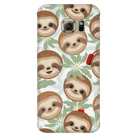 Happy Sloth Phone Case Phone Cases Galaxy S6 Edge
