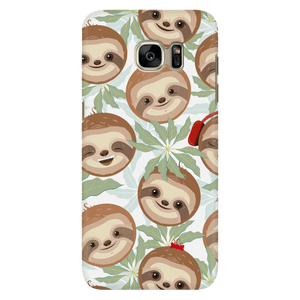 Happy Sloth Phone Case Phone Cases Galaxy S7