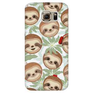 Happy Sloth Phone Case Phone Cases Galaxy S6