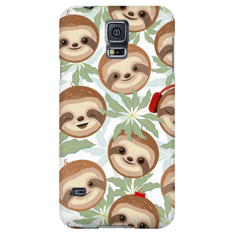 Happy Sloth Phone Case Phone Cases Galaxy S5