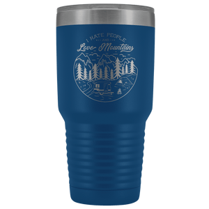 Love the Mountains | 30oz Tumbler Tumblers Blue