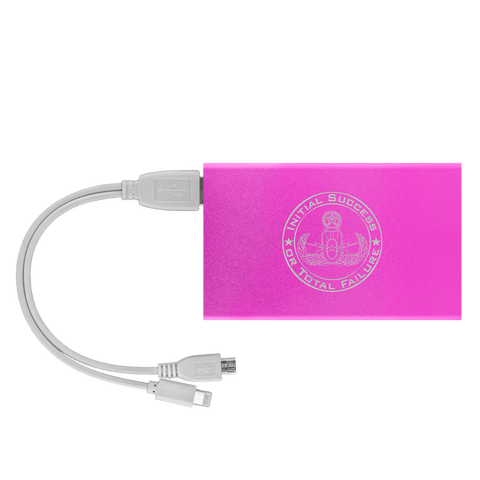 Initial Success to Total Failure EOD Power Bank V 2 Power Banks Pink