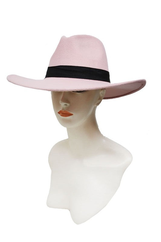 Wool Felt Big Brim Panama Hat