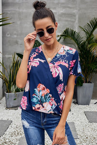 All Over Blooming Blouse