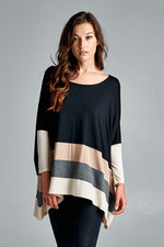 Dolman Colorblock Top