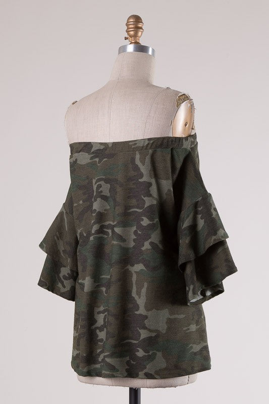 Drop Shoulder Hem Tunic