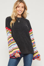 Drop Shoulder With Boho Sleeve Design