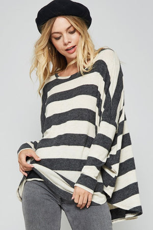Loose Fit Stripe Top