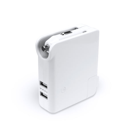 SE-PB01 - 2600mAh Power Bank Dual USB Output with Wall and Car Charger