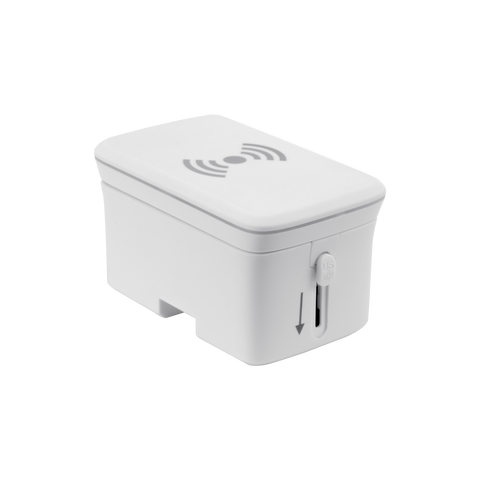 SE-TA202W - International Travel Adapter with Wireless Charging Pad