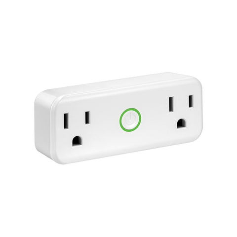 SE-SS201 - 2-in-1 WiFi Smart Plug US with Dual Sockets