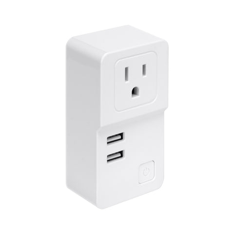 SE-SS301 - WiFi Smart Plug US Single Socket with Dual USB Ports
