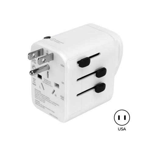SE-TA401Q - 4-USB Ports with QC International Wall Adapter w/Safety Compliant