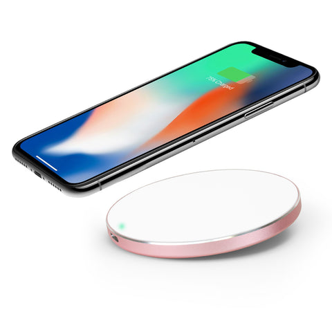 SE-W07 - 10W Aluminum Rim Fast Wireless Charging Pad