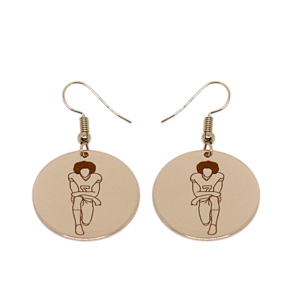 Colin Kaepernick Earrings