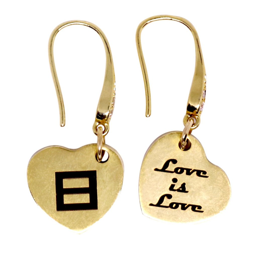 Love is Love Drop Earrings