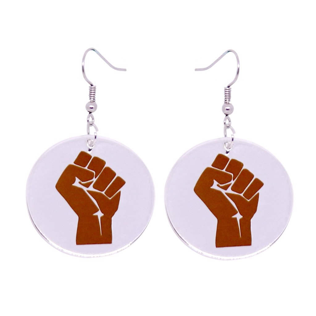 Strength and Resistance Earrings