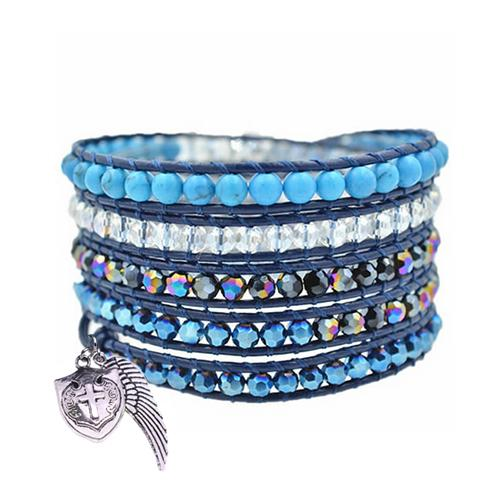 Guardian Angel Wrap Bracelet