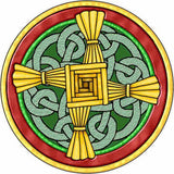 The Cane Cross of Saint Brigid of Kildare