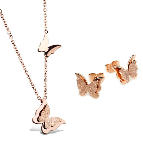 Rose Gold Butterfly Party
