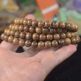 Chicken-Wing Wood Buddhist Mala