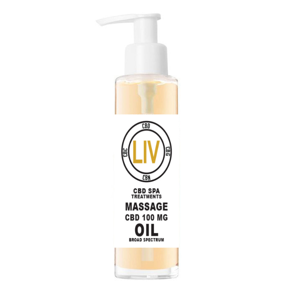 LIV Massage Oil- 100mg