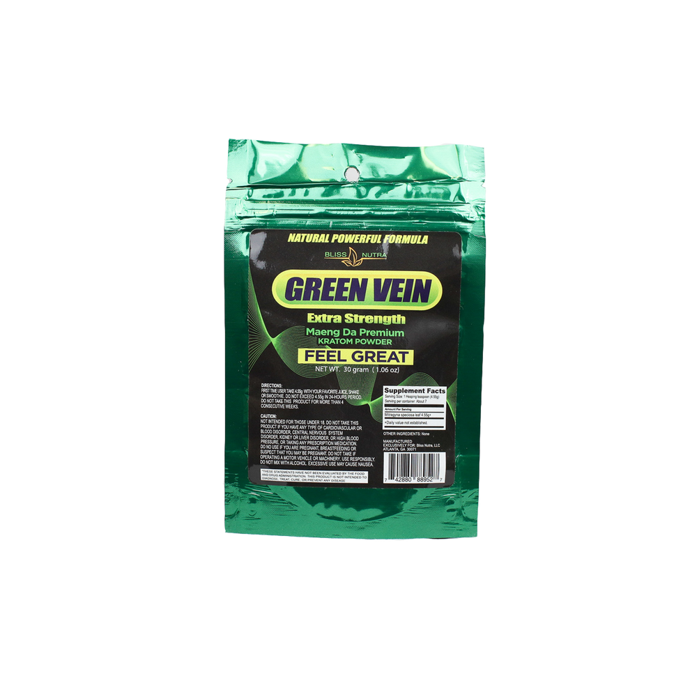 Green Vein - Premium Powder Pouch (30 Grams)