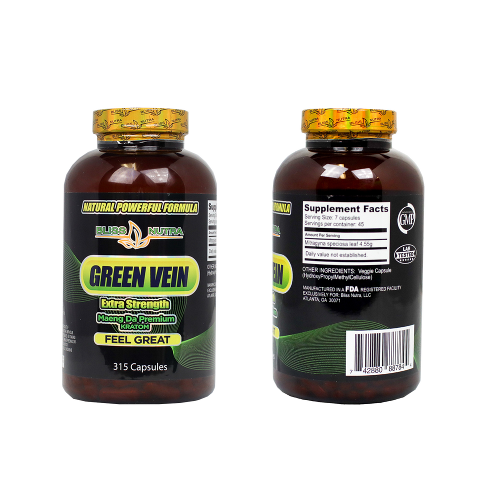 Green Vein - Capsules (315 Count)