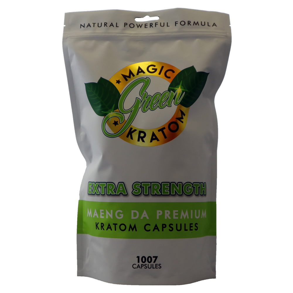 Magic Green Kratom Maeng Da Premium 1007 ct