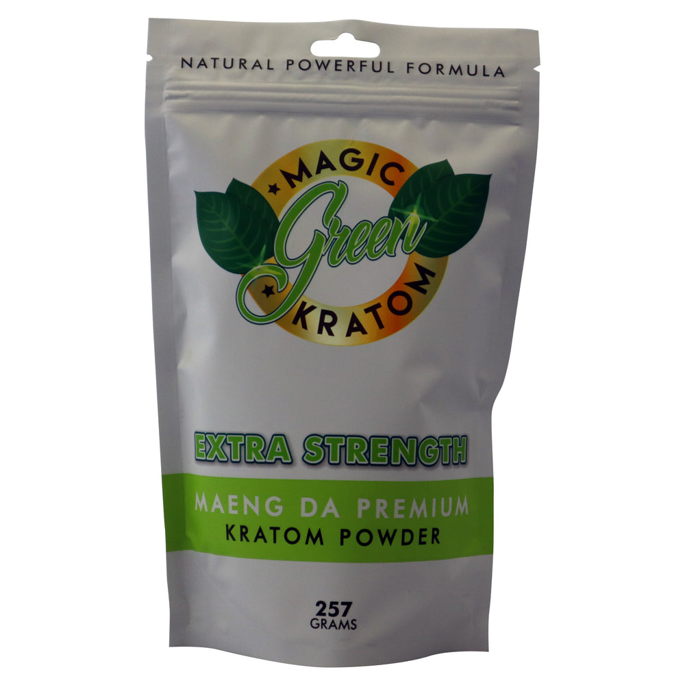 Magic Green Kratom Maeng Da Premium 257 grams