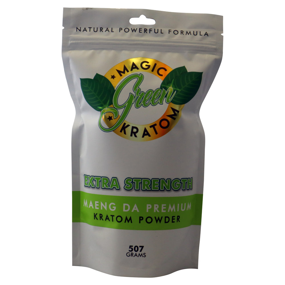 Magic Green Kratom Maeng Da Premium 507 grams