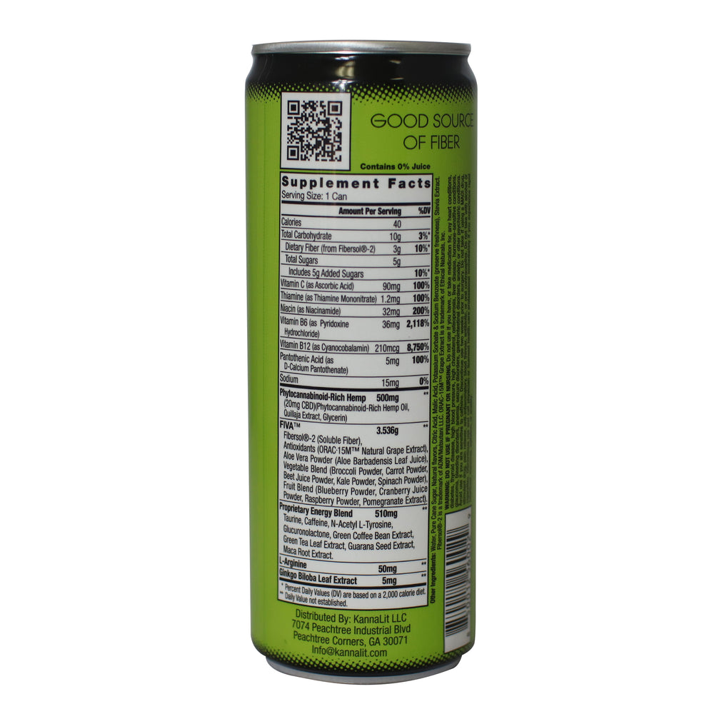 V+Hemp Energy Can 12 Oz