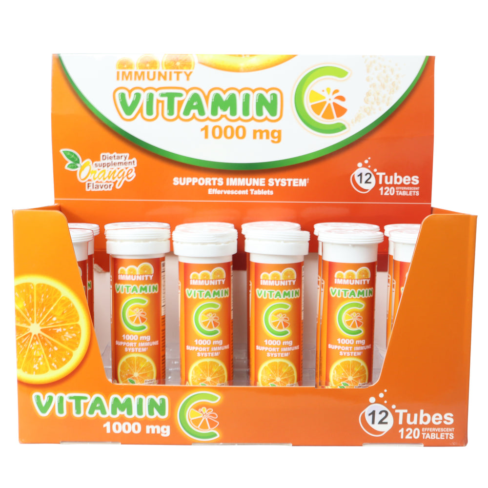 Vitamin C Effervescent Tablets 1000 mg