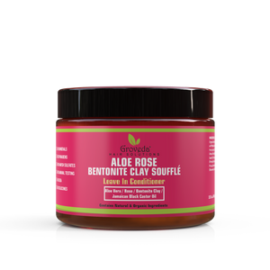 Aloe Rose Bentonite Clay Souffle Leave In Conditioner Twist Out Braid Out